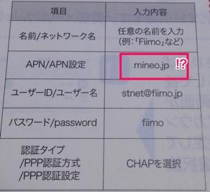 Fiimo取説アップ