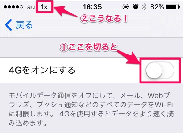 mineoでiPhone5を使いSMSを利用する方法
